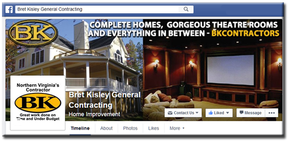 Bk Contractors Northern Virginia S Remodeling And Addition